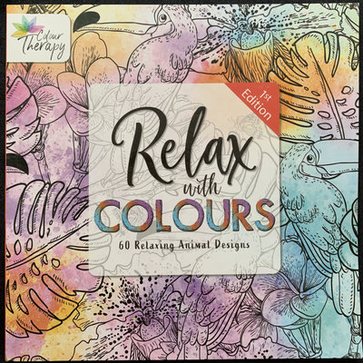 Colour Therapy Relax with Colours 1st Edition - 60 Relaxing Animal Designs