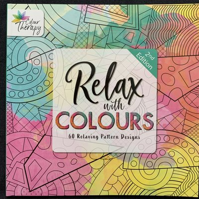 Colour Therapy Relax with Colours 2nd Edition - 60 Relaxing Pattern Designs