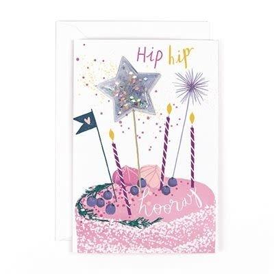 Hotchpotch Glitter Ball Cake Toppers Card