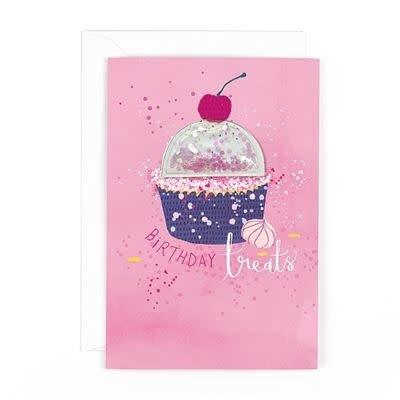 Hotchpotch Glitter Ball Birthday Treats Birthday Card