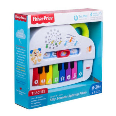 Fisher Price Fisher Price Silly Sounds Light-Up Piano