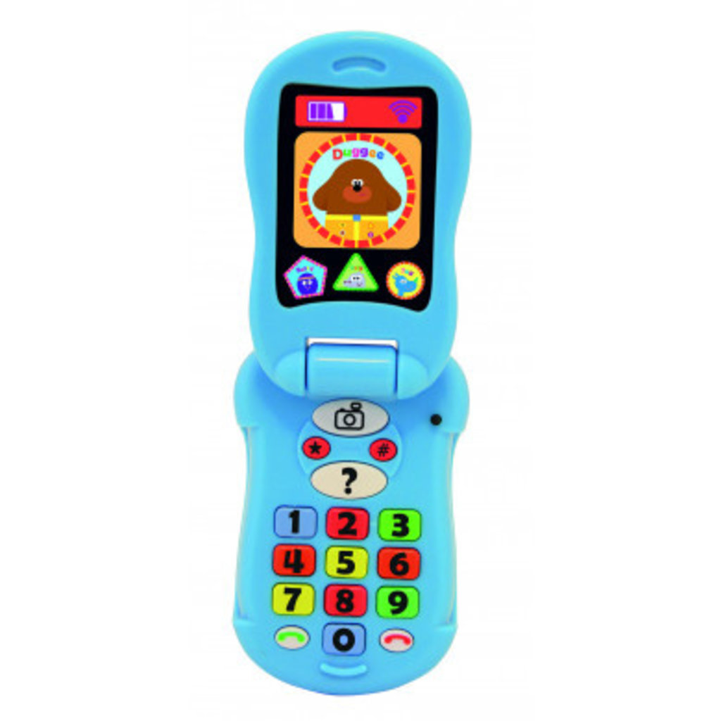 CBeebies HEY DUGGEE Flip & Learn Phone