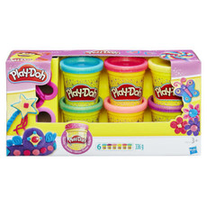 Hasbro Play-Doh Sparkle Set of 6