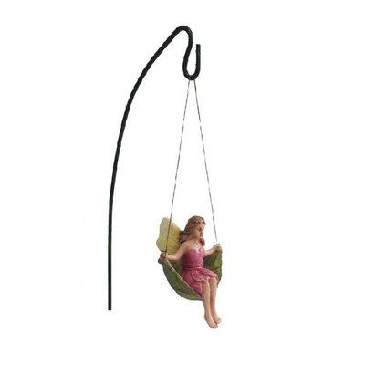 Woodland Knoll Woodland Knoll - Resin Swinging Fairy with Metal Hook