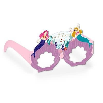 Hotchpotch Happy Birthday Glasses - Mermaid & Shells