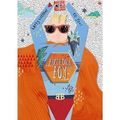 Hotchpotch Birthday Boy Super Hero Card