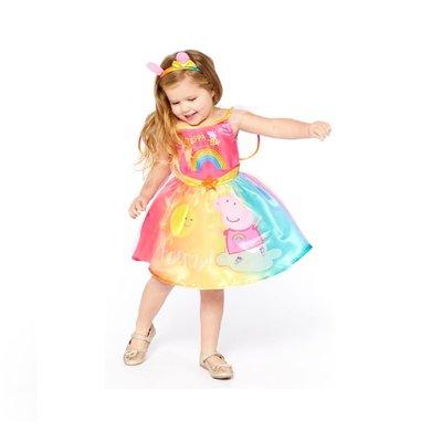 Peppa Pig Peppa Pig Rainbow Dress Costume - Age 2/3 years