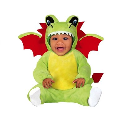 Baby Green Dragon Costume - Age 6-12 months