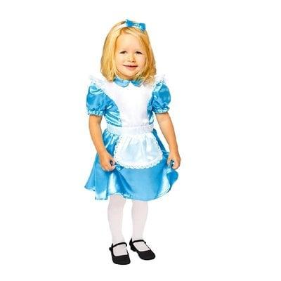 Alice in Wonderland Alice Costume - Age 2/3 years