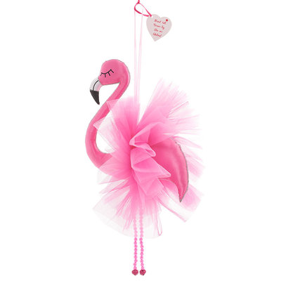 Believe You Can Large Flamingo Room Decoration