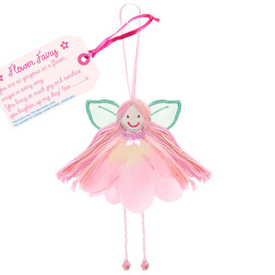 Believe You Can Flower Petal Fairy - Fabric Pink