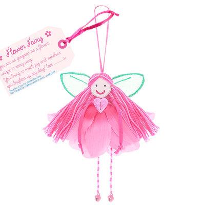Believe You Can Flower Petal Fairy - Fabric Fuchsia