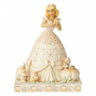 Disney Traditions Disney - Darling Dreamer - Cinderella White Woodland