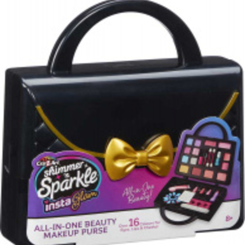 Shimmer 'n' Sparkle Shimmer 'n' Sparkle Insta Glam All-in-One Beauty Makeup Purse