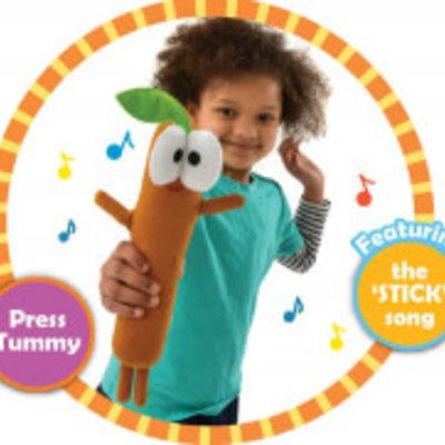 CBeebies Hey Duggee Singing Sticky Sticky Stick Stick Soft Toy