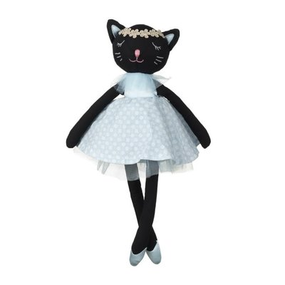 Orange Tree Toys Black Cat Fabric Doll