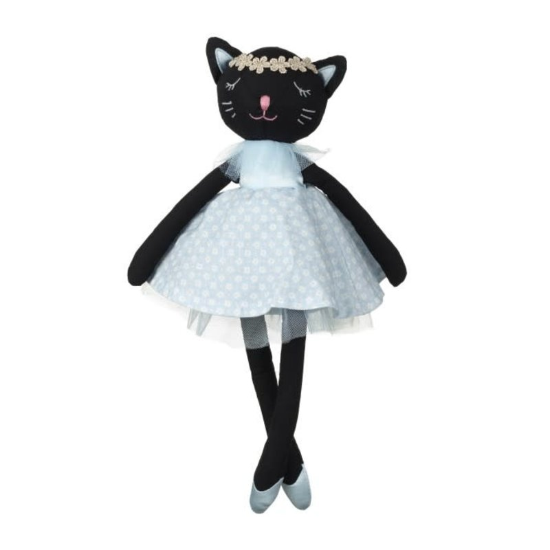 Orange Tree Toys Black Cat Fabric Doll