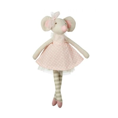 Orange Tree Toys Mouse Fabric Doll Small