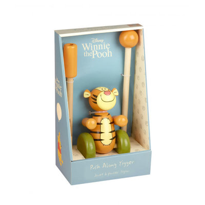 Disney - Winnie the Pooh Boxed Disney Tigger Push Along