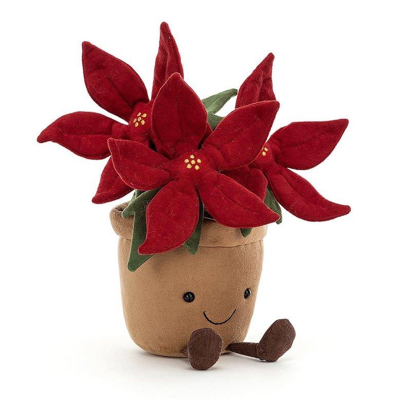 Jellycat - Festive Jellycat - Amuseable Poinsettia