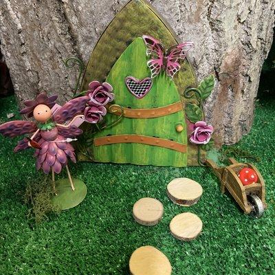 Fairy Kingdom Fairy Kingdom - Fairy Door - Rose (Rosie)