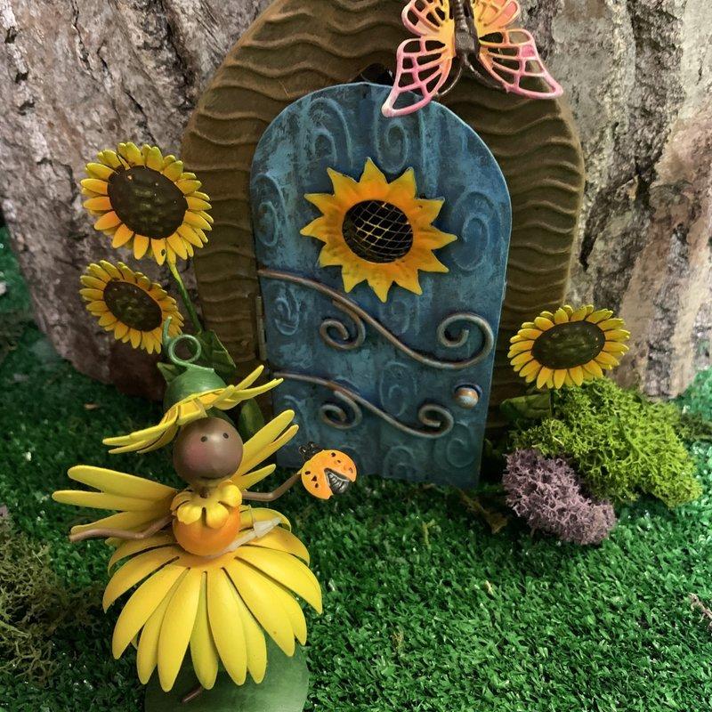 Fairy Kingdom Fairy Kingdom - Fairy Door - Sunflower