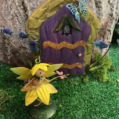 Fairy Kingdom Fairy Kingdom - Sky Bluebell Fairy Door