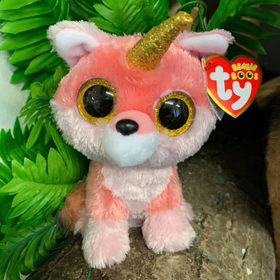 Ty Beanie Boo - Faye the Fox with Horn