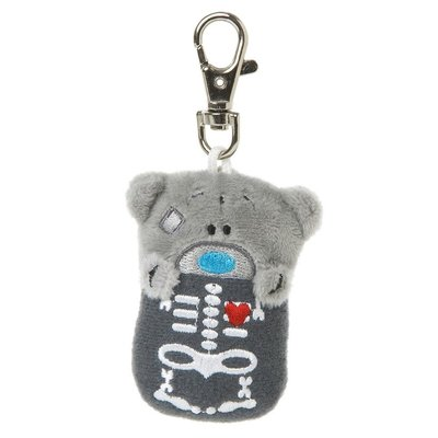 Tatty Ted Me To You - Keyring - Skeleton