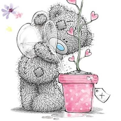 Me to You Special Friend Birthday Bear Watering a Plant