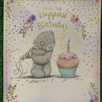Me to You Birthday Bear Happiest Birthday Card