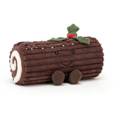 Jellycat - Festive Jellycat - Amuseable Yule Log