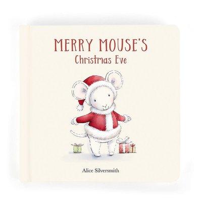 Jellycat - Festive Jellycat - Merry Mouse's Christmas Eve Book