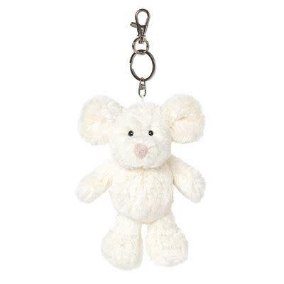 All Creatures Bag Charm Mouse Keyring - Taffy