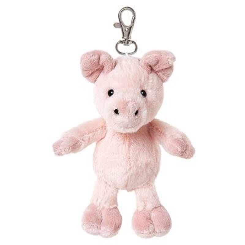 All Creatures Bag Charm Pig Keyring - Peyton