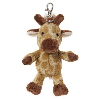 All Creatures Bag Charm Giraffe Keyring - Emmy