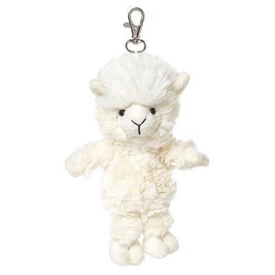 All Creatures Bag Charm Alpaca Keyring - Arthur