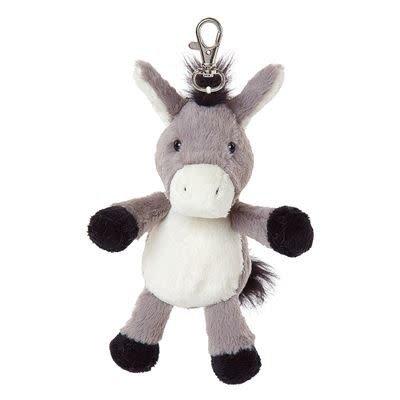 All Creatures Bag Charm Donkey Keyring - Cleo