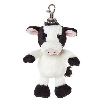 All Creatures Bag Charm Cow Keyring - Camilla