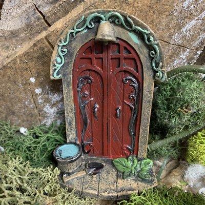 Fiesta Studios Mini Double Red Fairy Door