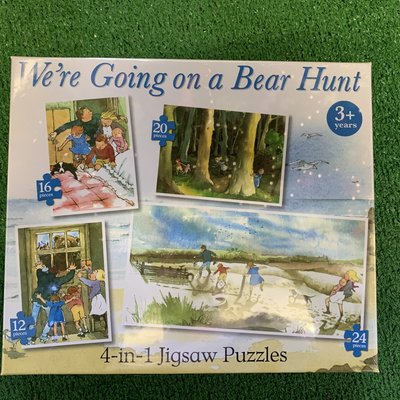 Paul Lamond Games We're Going on a Bear Hunt - 4 in 1 Puzzles