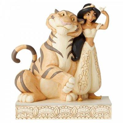 Disney Traditions Disney - Wondrous Wishes - Jasmine White Woodland