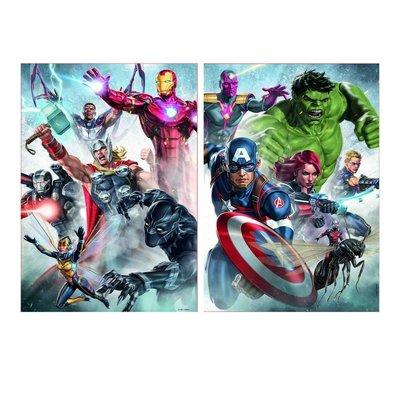 Educa 2 x 500pcs Marvel Avengers Puzzles