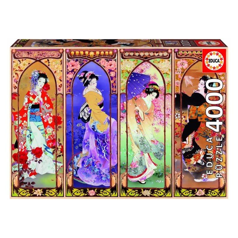 Educa 4000pcs - Japanese Collage Puzzle