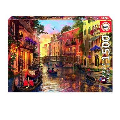 Educa 1500pcs - Sunset in Venice Puzzle
