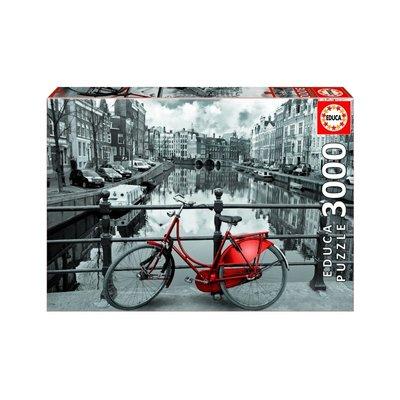 Educa 3000pcs - Amsterdam Puzzle