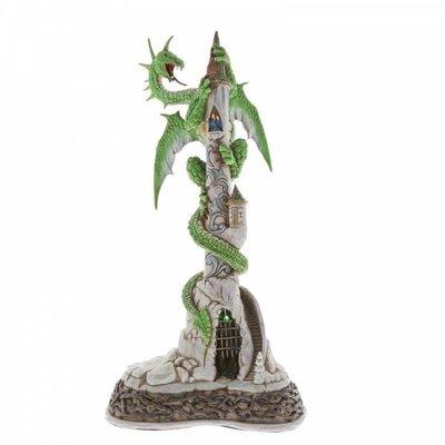 Jim Shore Lit Dragon Masterpiece - Jim Shore