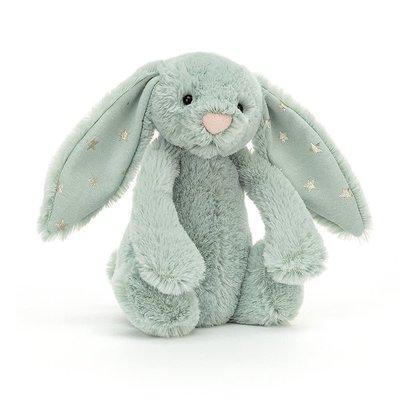 Jellycat - Festive Jellycat - Bashful Sparklet Bunny - Small