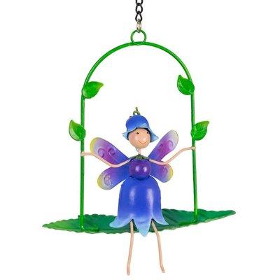 Fairy Kingdom Fairy Kingdom - Bluebell (Sky) Fairy on Swing