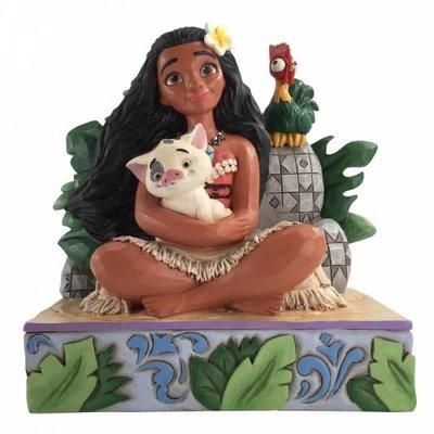 Disney Traditions Disney - Moana, Pua & Hei Hei - Welcome to Motunui